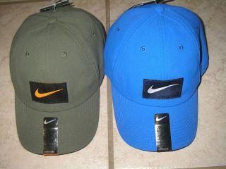 NWT MENS ADULT NIKE DRI FIT COTTON HERITAGE ADJUSTABLE CAP HAT SELECT