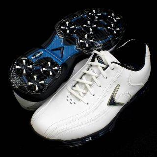 NEW ECCO Mens BIOM Hybrid Golf Shoes White/Red 131504 51215 Eu 47 13