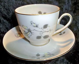 Edelstein Bavaria #23183 Tea Cup & Saucer   Germany   Yellow/White