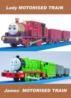 TRACKMASTER THOMAS And Friends MOTORISED Engine TRAIN Thomas & Edward