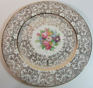 Vintage Lafayette China 22 Kt Gold Plate by Edwin M Knowles