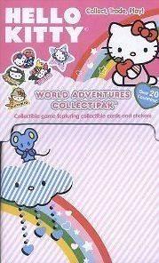 Upper Deck Hello Kitty World Adventure Collectipak Card Sticker Box
