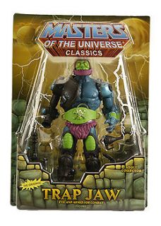 HE MAN MOTU MOC Masters Of The Universe CLASSICS TRAP JAW MINI COMIC