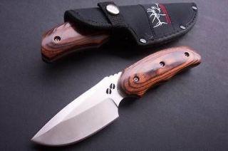 Buck 480 bowie Hunting Rocky Mountain Elk Foundation 076 FK29 Knife