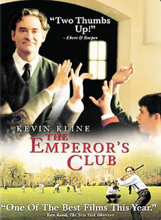 The Emperors Club DVD, 2003, Full Frame