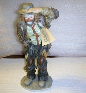 rare 1982 EMMETT KELLY JR ING OUT SEE MIB