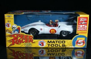 SPEED RACER MACH 5 Chim Chim MATCO TOOLS   AMERICAN MUSCLE Diecast 1
