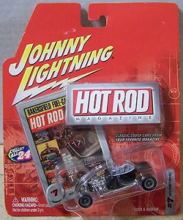 ctd Johnny Lightning 2003 Hot Rod Magazine 23 Ford T Bucket black/J