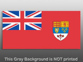 Canada 1957 Red Ensign Flag Sticker  decal car canadian