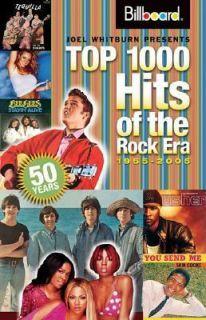 Joel Whitburn Presents Top 1000 Hits of the Rock Era 1955 2005 by Joel
