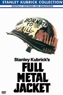 Full Metal Jacket DVD, 2001, Stanley Kubrick Collection
