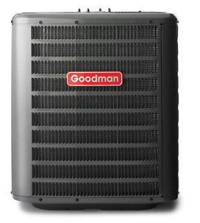 ton Goodman Commercial Heat Pump Condenser 208 230 3 phase R 22 Dry