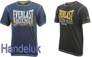 Everlast Sports Training Classic T Shirt Boxing Club Top size S M L XL