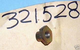 Johnson Evinrude Outboard Motor Shifter Rod lock nut 321528 25hp