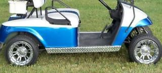 Ez go medalist/txt Golf Cart Diamond Plate Side Panels
