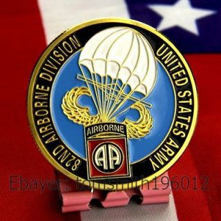 Army 82nd Airborne Division / Military Challenge Coin 641