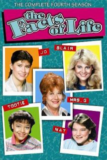 The Facts of Life The Complete Fourth Season DVD, 2010, 4 Disc Set