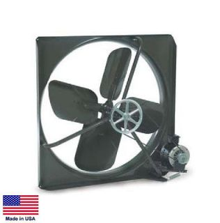 EXHAUST FAN Commercial   Belt Drive   42   115V   1/2 Hp   2 Speed