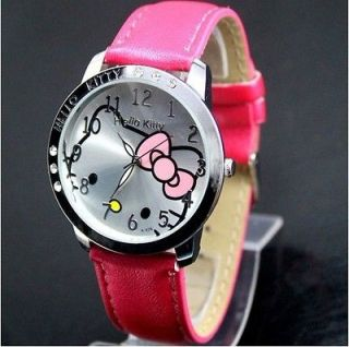 lovely hellokitty Girls Ladies Wrist Watch Quartz Fashion Gift Nice