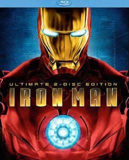 Iron Man Blu ray Disc, 2008, 2 Disc Set, Ultimate Edition