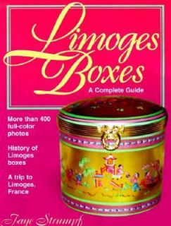 Limoges Boxes A Complete Guide by Faye Strumpf 2000, Paperback
