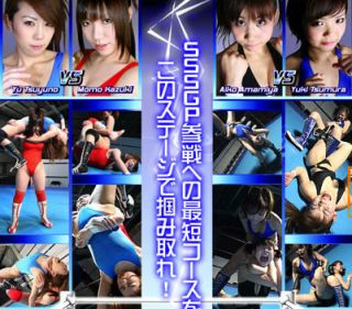 NEW 70 MINUTES Female Women Ladies Wrestling Japanese 2 MATCHES