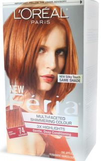 Loreal Feria Multi Faceted # 74 Copper Shimmer, Deep Copper   1 Ea