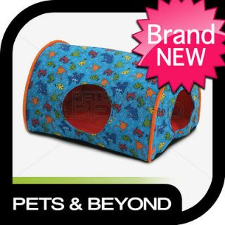 INDOOR CAMPER ORANGE FISH SMALL LITTLE DOG/CAT/PET KITTY BED/PAD