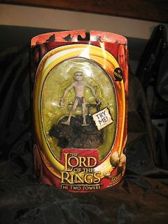 LORD OF THE RINGS GOLLUM ACTION FIGURE WITH ELECTRONIC SOUND BASE IN