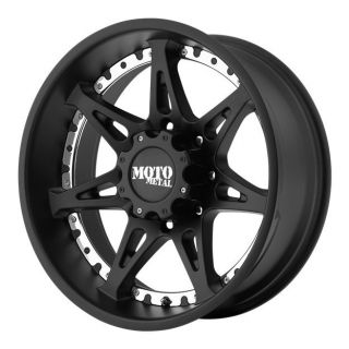 MOTO METAL MO961 MO96129068718 20X9 18MM OFFSET 6X5.5 S BLACK SINGLE