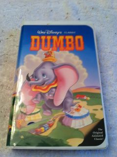 Dumbo (VHS, 1998) Disney Video Movie Clam Shell