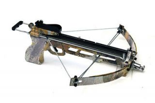 40 lb Draw Metal CANNONBOLT Dual Compound Crossbow CAMO Hunting Small