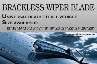 18 (457mm) Fit only for J or U Hook Wiper Arm Windshield WIPER BLADES