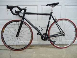 Black Fixed Gear Bike (Fixie) 52cm Frame