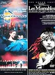 Les Miserables in Concert Riverdance Live in New York DVD, 2001