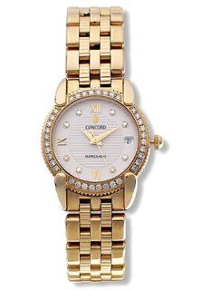 Concord Impresario 18k Gold Diamond Womens Watch 0309093 Watches