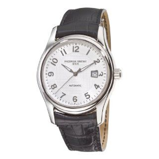 Frederique Constant Mens FC 303RM6B6 Runabout Automatic Silver Dial