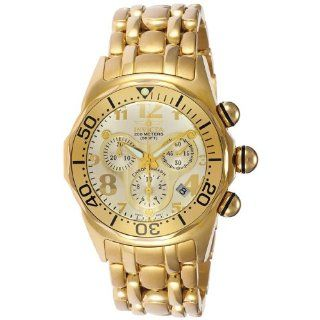 23k Gold Plated WatchDiver Chronograph Watch Watches
