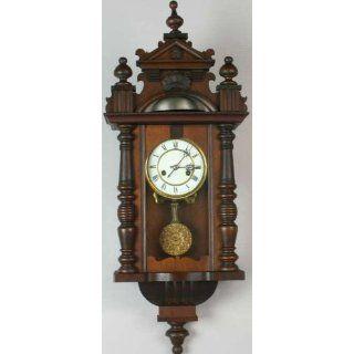 Nice Antique German Regulator Wall Clock HAC Spindles