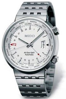 Mido Mens Watches Automatic Big Gent Gmt M8350.4.11.1   2 Watches