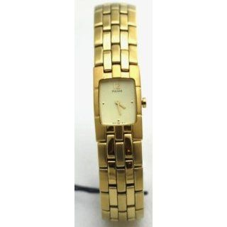 Pulsar Ladies Goldtone Watch PEG298: Watches:
