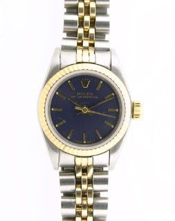 Rolex Oyster Perpetual Ladies Steel Watch 67180: Watches: