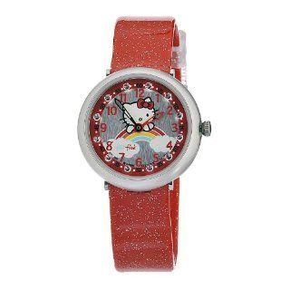 Swatch Kids ZFFL017 Quartz Silver Dial Hello Kitty Watch Watches