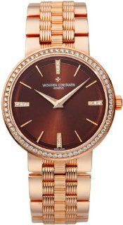 Vacheron Constantin Patrimony Ladies Rose Gold Diamond Watch 25557