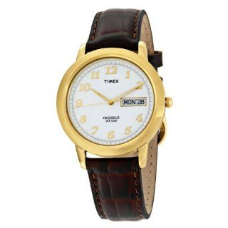 Timex Mens T21713 Classic Gold Tone Dress Watch Watches