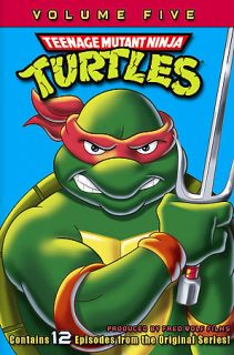 Teenage Mutant Ninja Turtles   Volume 5 DVD, 2006