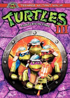 The Teenage Mutant Ninja Turtles III DVD, 2002