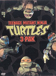 Teenage Mutant Ninja Turtles   Collection DVD, 2003, 3 Disc Set, Slipsleeve 3 Pack