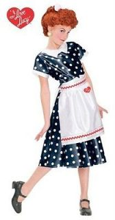 Classic Polka Dot Dress Child Costume Medium 8 10 Fun World 101112M