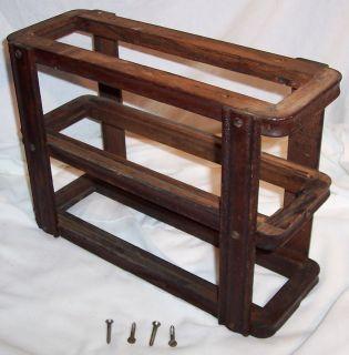 2L Antique Oak Singer Treadle Sewing Machine Left Drawer Frame 1900s